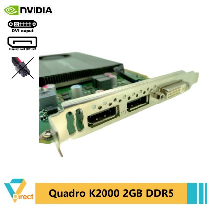 CAD CGI DCC nVidia Quadro K2000 2GB DDR5 128bit graphic GPU video card for 2D and 3D graphic design HP Dell workstation